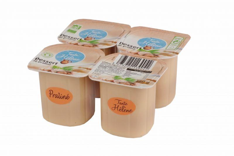 Dessert Praliné 4x115g