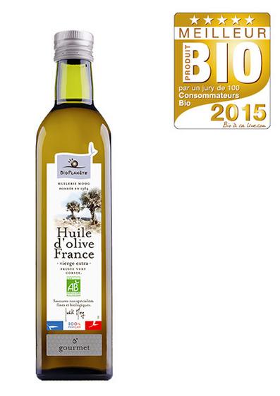 Huile d'olive France - MPB 2015