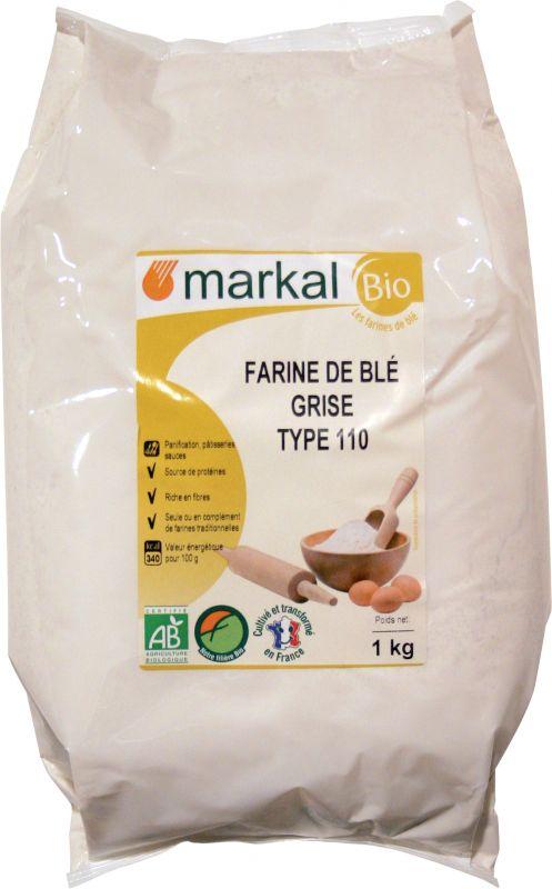Farine de blé T100 - Markal