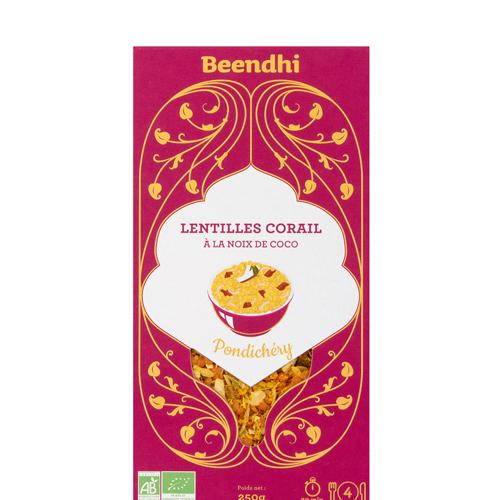 Lentilles Corail à la Noix de Coco - Pondichéry