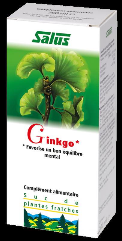 Suc de Ginkgo