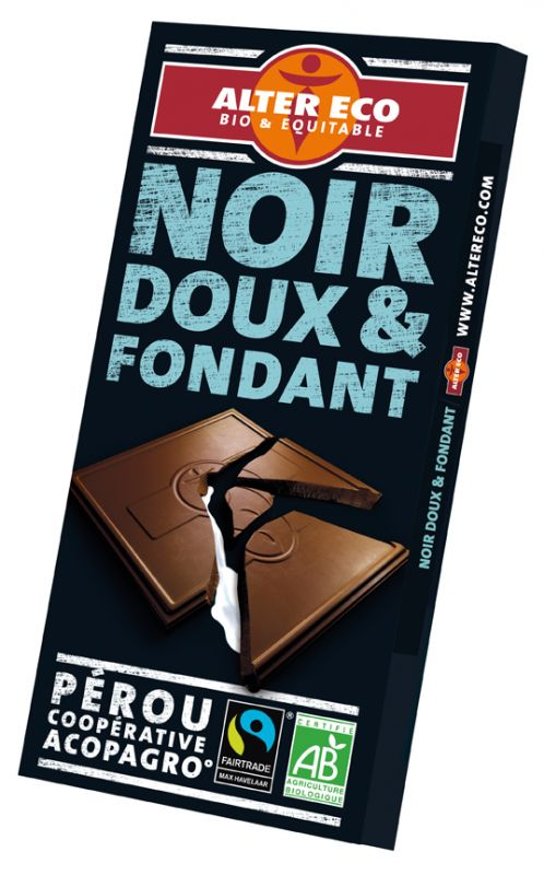 Chocolat noir doux & fondant