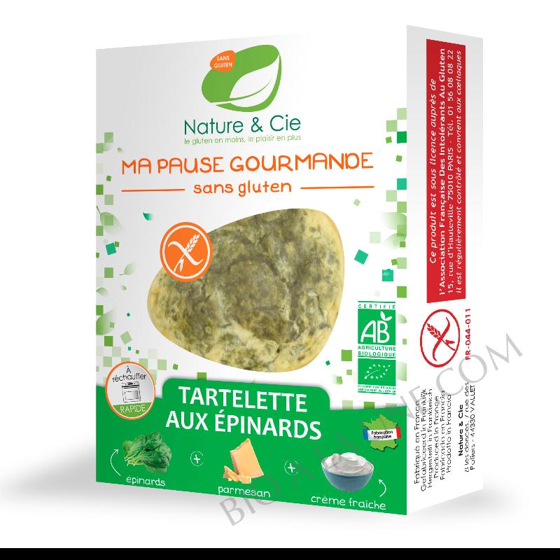 Tartelette aux épinards