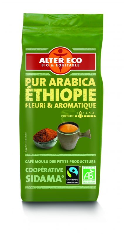 Café pur arabica d'Ethiopie