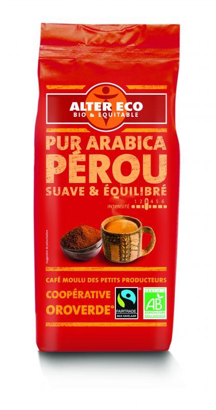 Café pur arabica du Pérou