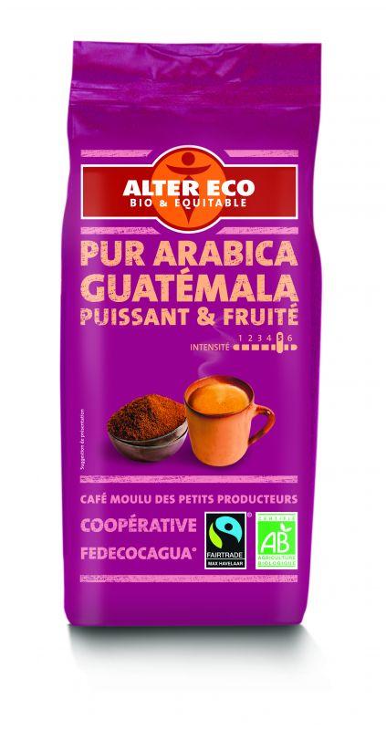 Café pur arabica du Guatemala