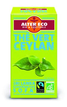 Thé vert nature Ceylan