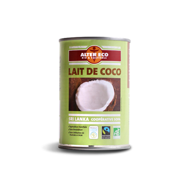 Lait de coco Alter Eco