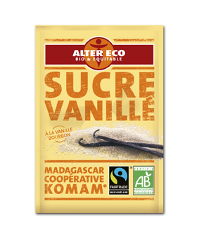 Sucre vanillé Alter Eco