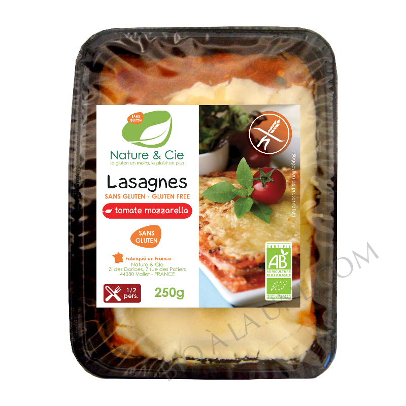 Lasagnes tomates mozzarella basilic