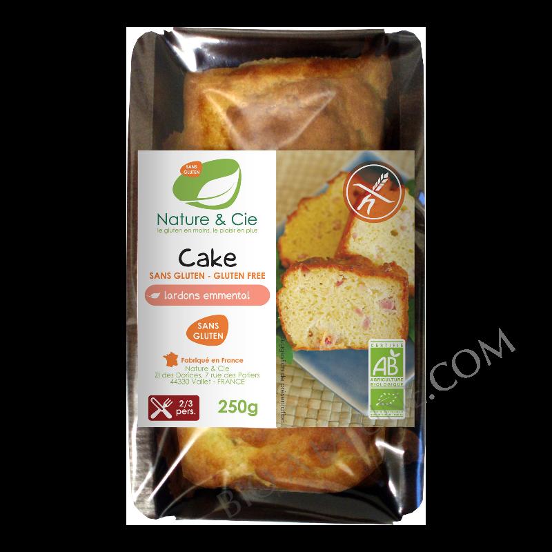 Cake lardons emmental