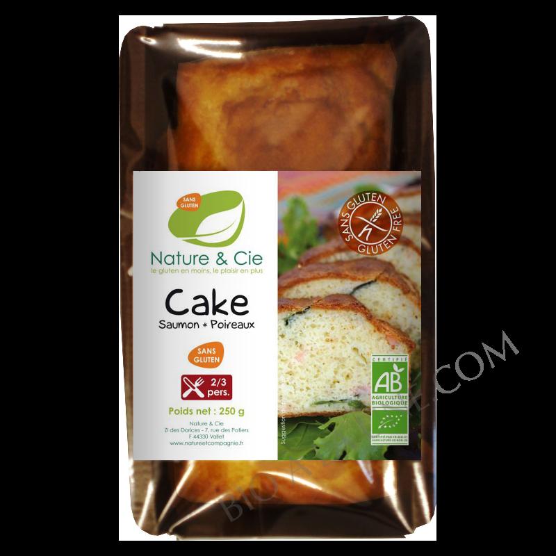Cake saumon poireaux
