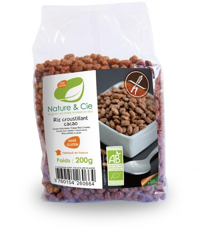 Riz croustillant cacao