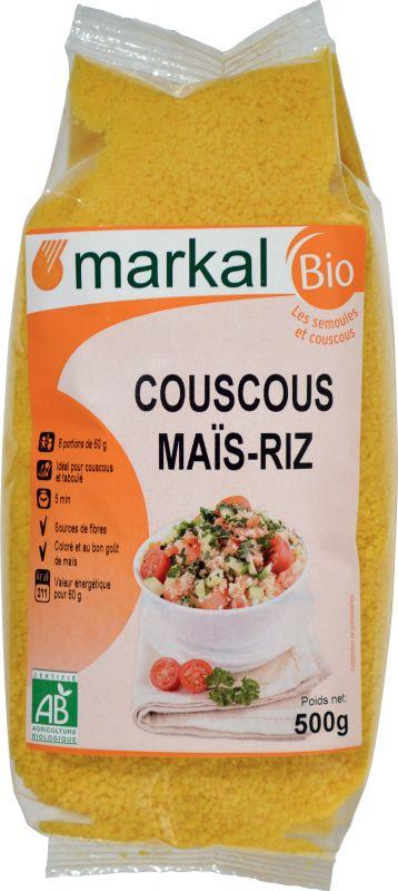 Couscous maïs riz Markal