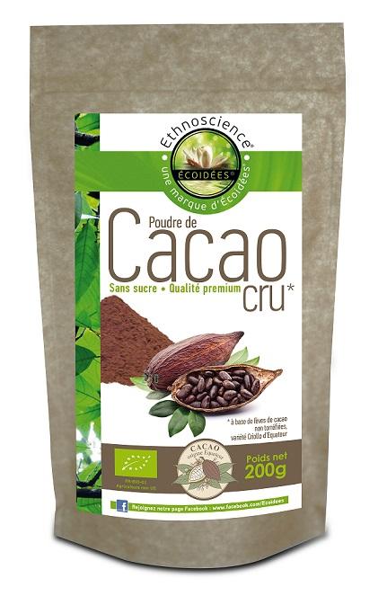 poudre de cacao cru