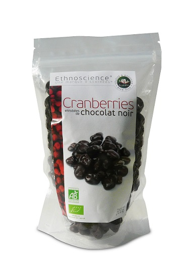 Cranberries au chocolat