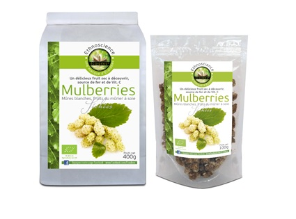 mulberries blanches