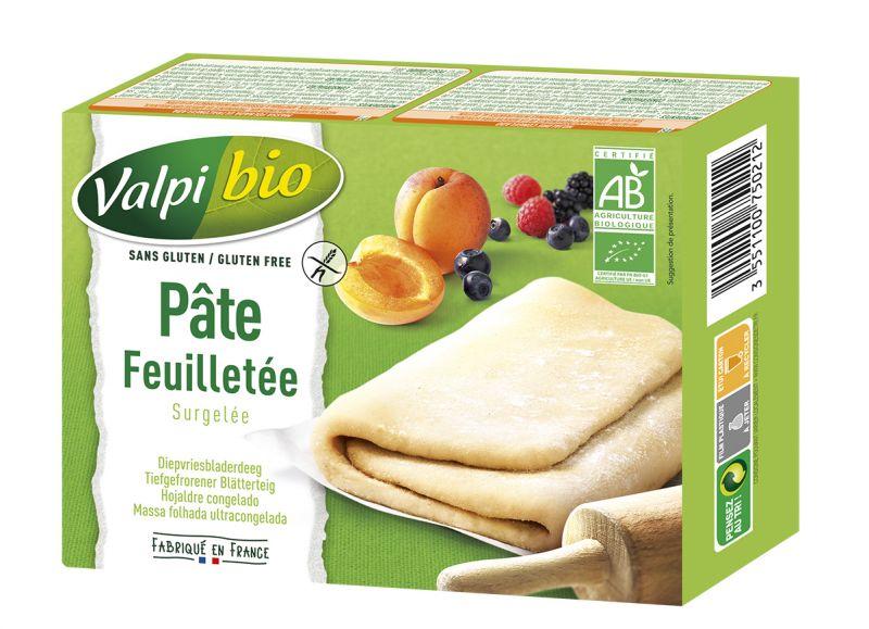 Pâte Feuilletée Surgelée Valpibio