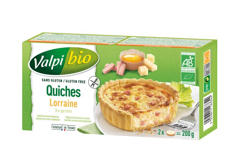 Quiches Lorraine Surgelées Valpibio
