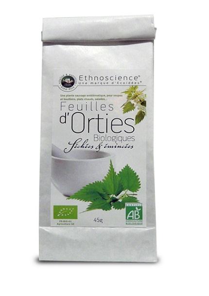 Orties - feuilles séchées