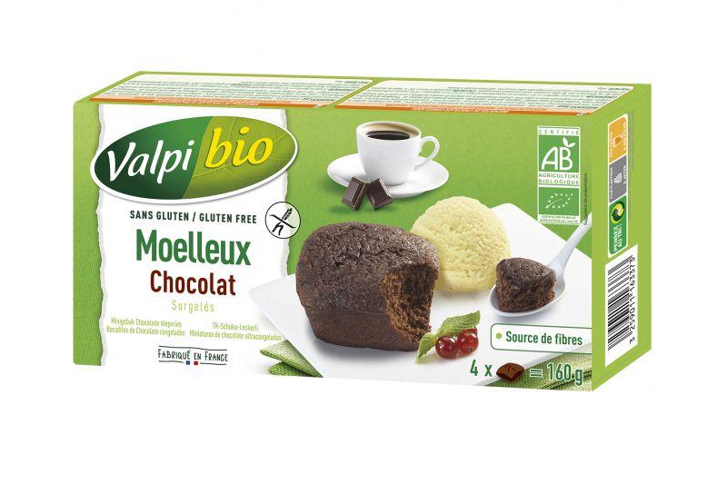 Moelleux au Chocolat Sans Gluten Surgelés