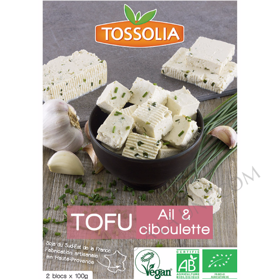 Tofu Ail Ciboulette