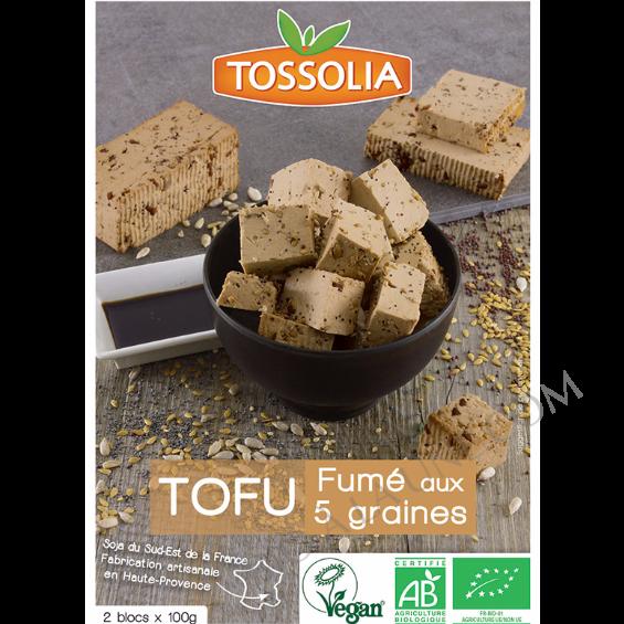 Tofu Fumé aux 5 Graines