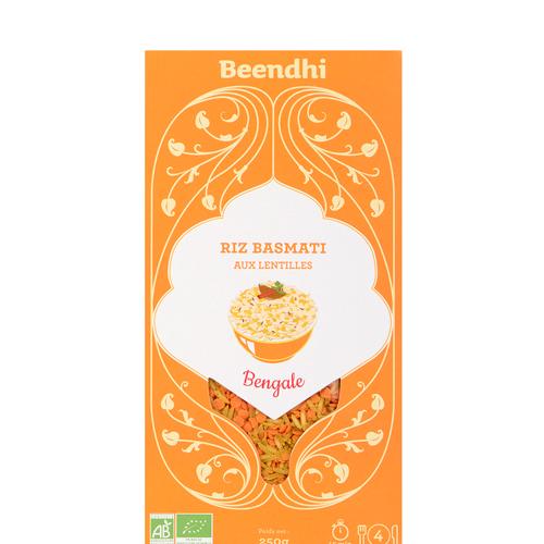 Riz Basmati aux Lentilles - Bengale