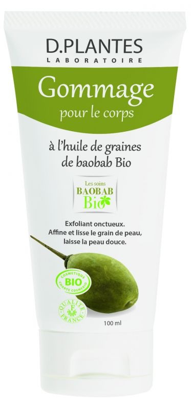 Gommage corps baobab bio