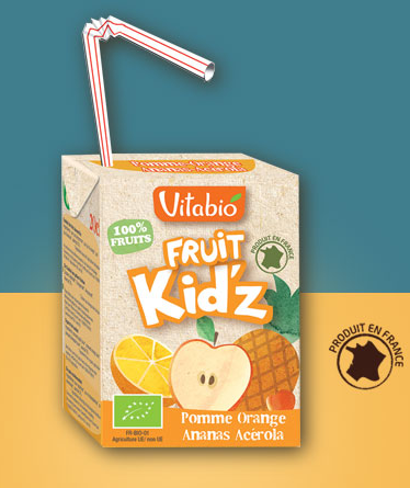 Fruit Kid'z Pomme Orange Ananas