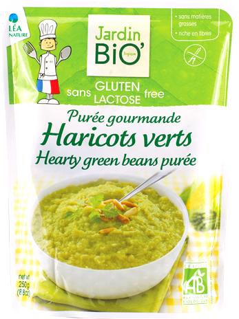 Purée gourmande de Haricots Verts