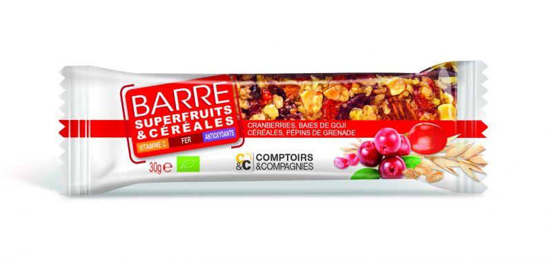 Barre de Céréales fonctionnelle Superfruits & Céréales