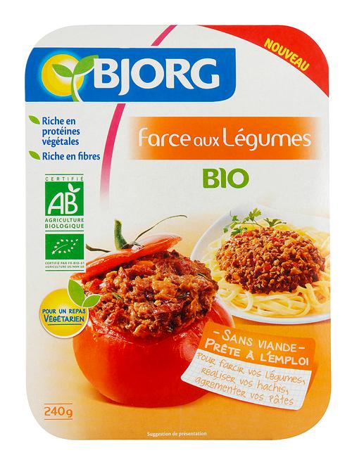Farce aux Légumes Bio