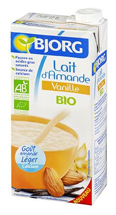 Lait d'Amande Vanille Bio
