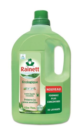 Lessive liquide écologique Sensitive concentrée Aloé vera