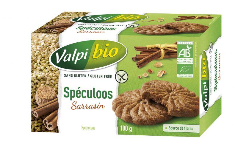 Spéculoos au sarrasin bio sans gluten
