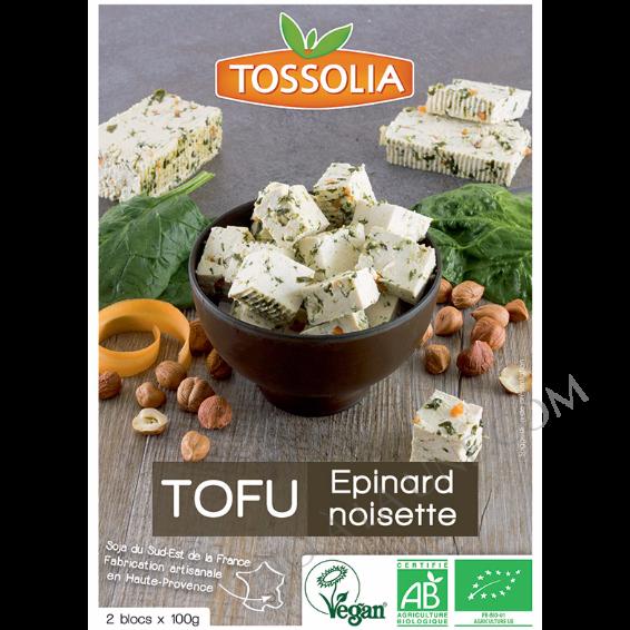 Tofu Bio Épinard Noisette