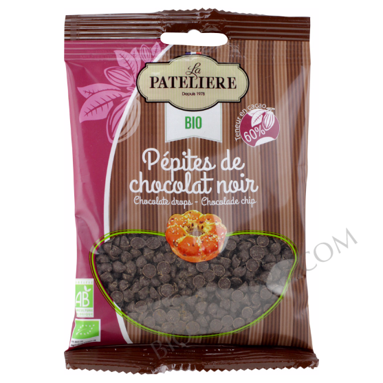pépites chocolat noir