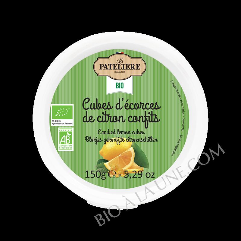 Cubes d écorces de citrons confits