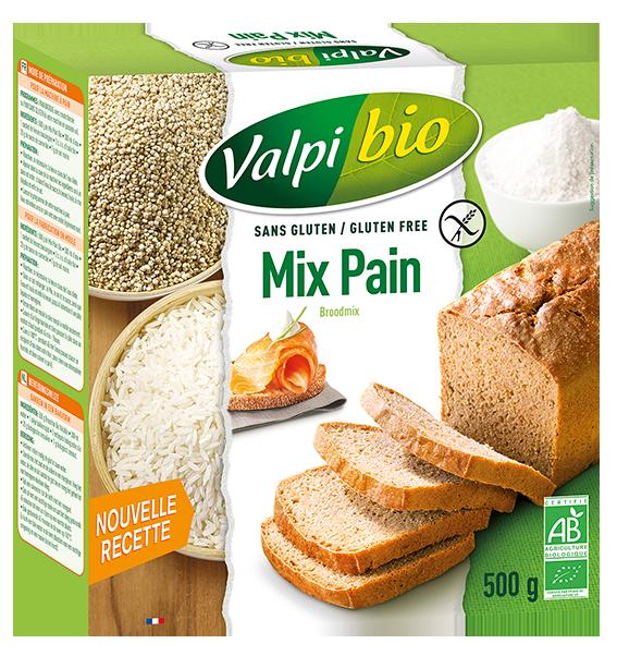 Mix Pain Valpibio Sans Gluten