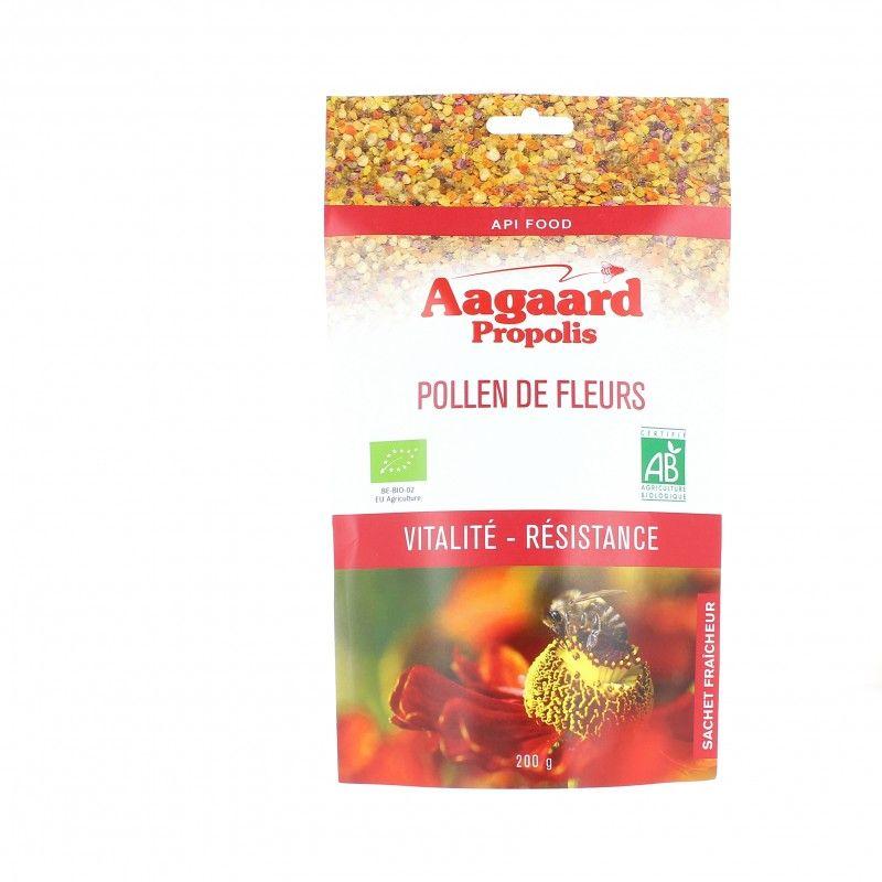 Pollen de fleurs bio