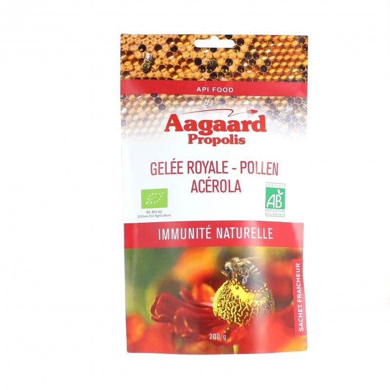Gelée royale + pollen + acérola