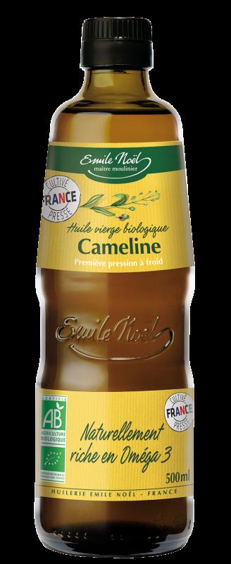 Huile vierge de Cameline