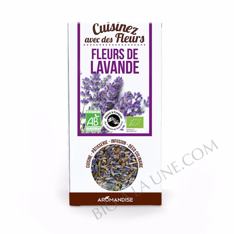 FLEURS A CROQUER FLEURS DE LAVANDE AROMANDISE