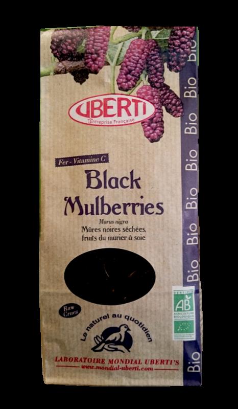 Black mulberries - Mûre noire