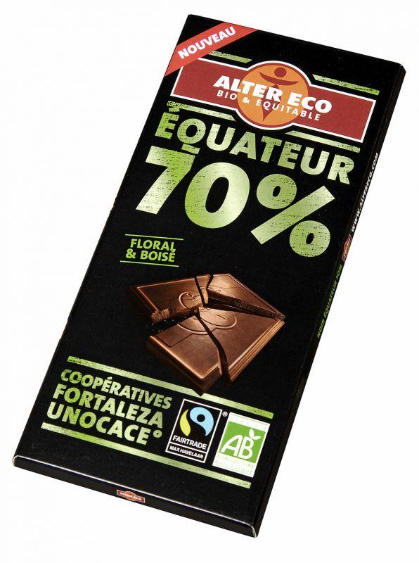 Chocolat Noir Equateur 70%