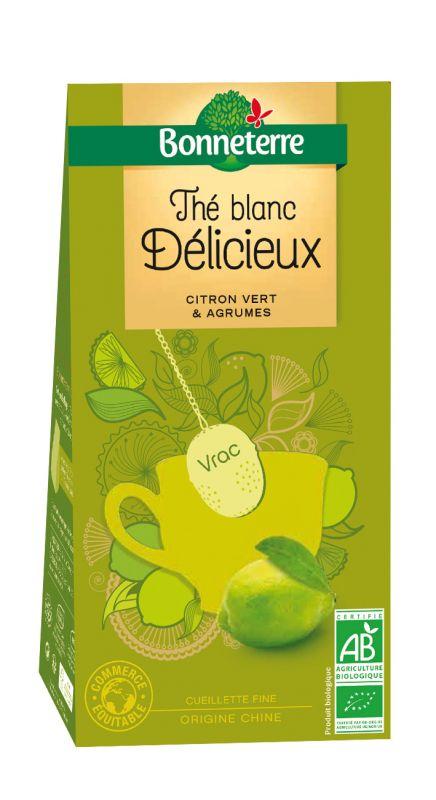 Thé Blanc Délicieux Bio et Equitable