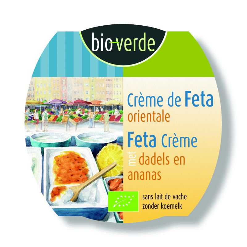 Crème de Feta orientale 125g