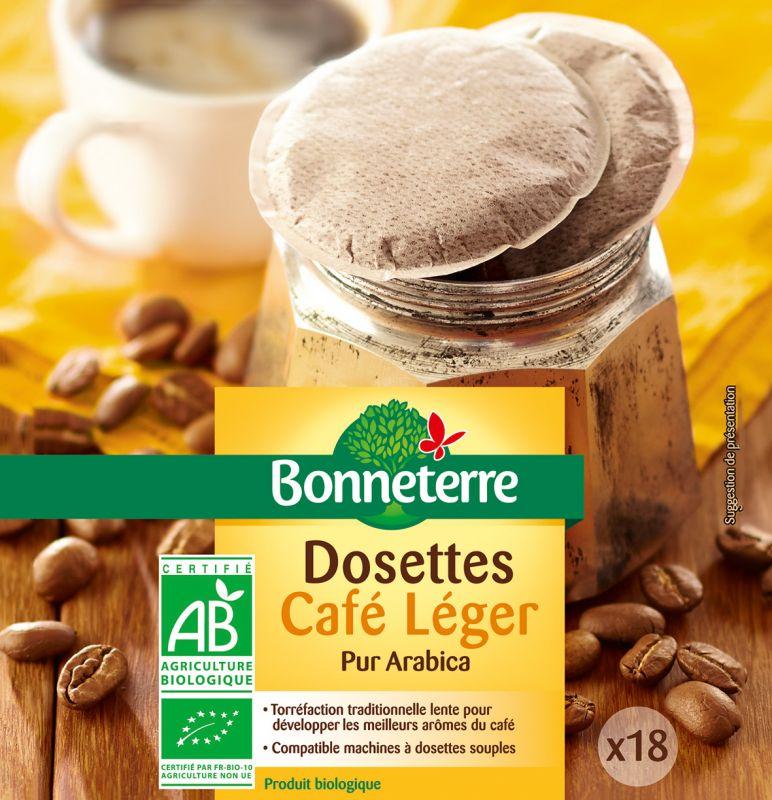 Bonneterre Café dosettes bio