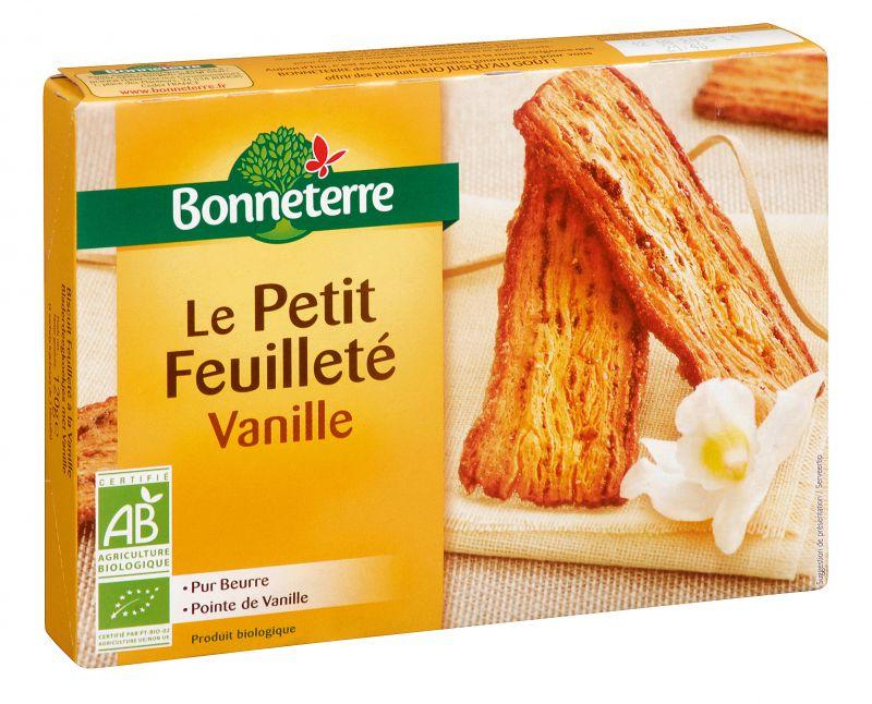 Bonneterre Le Petit feuilleté vanille bio